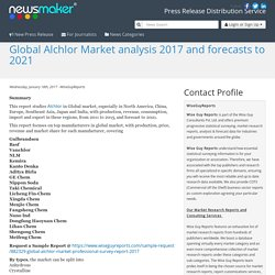 Global Alchlor Market analysis 2017 and forecasts to 2021