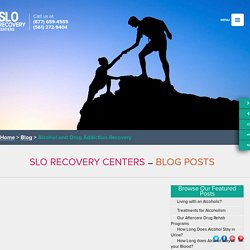 Alcohol and Drug Addiction Recovery - SLO Recovery Centers
