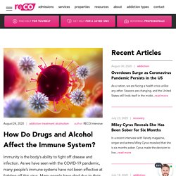 How Do Drugs and Alcohol Affect the Immune System?