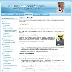 Anxiety Support Center