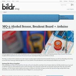 MQ-3 Alcohol Sensor, Breakout Board