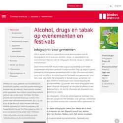 PM0355: Alcohol, drugs en tabak op evenementen en festivals
