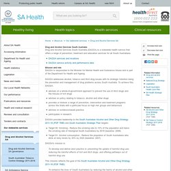 Drug and Alcohol Services South Australia