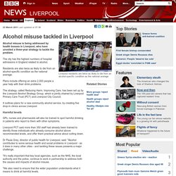 Alcohol plague in Liverpool