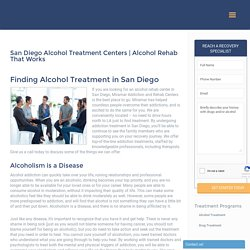 San Diego alcohol rehab center