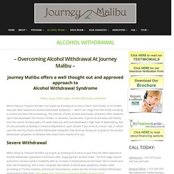 Alcohol Withdrawal – Journey malibu