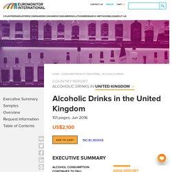 Boissons alcoolisées dans le Royaume-Uni