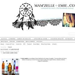 Alcool Camphré