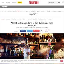 Alcool: la France dans le top 3 des plus gros buveurs