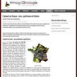 L'alcool en France : vins, spiritueux et bières - WMAG Oenologie