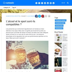Alcool et sport sont-ils compatibles ?