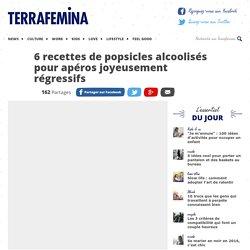 6 recettes de popsicles alcoolisés pour apéros joyeusement régressifs
