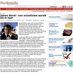 James Bond : son alcoolisme aurait dû le tuer