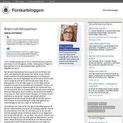 Forskarbloggen vid Umeå universitet