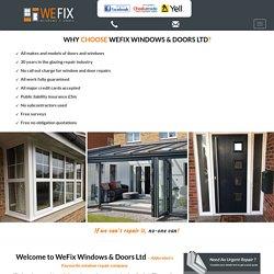 Window Repairs Godalming