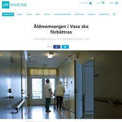 Äldreomsorgen i Vasa ska förbättras