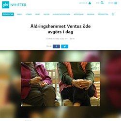 Åldringshemmet Ventus öde avgörs i dag