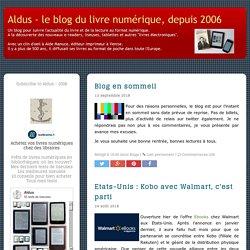 Aldus - le blog du livre numérique, depuis 2006