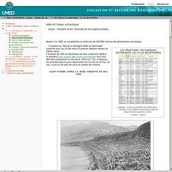 Aléa et risque volcanique