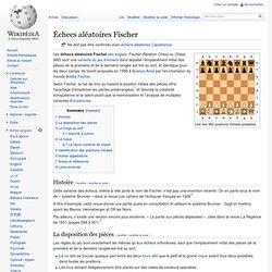 Échecs aléatoires Fischer