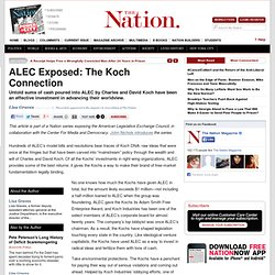 ALEC Exposed: The Koch Connection