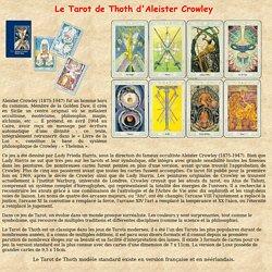 Tarot de Thoth Aleister Crowley Miroir de l'ame relations