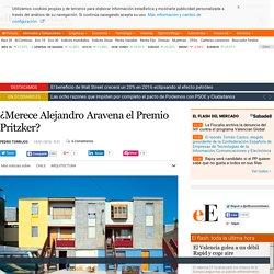 ¿Merece Alejandro Aravena el Premio Pritzker?