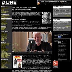Alejandro Jodorowsky - Unseen Dune