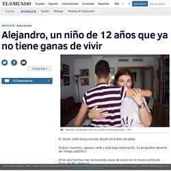 Alejandro no tiene ganas de vivir