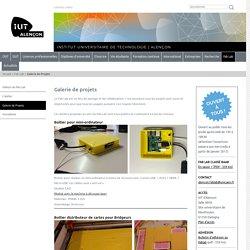 IUT Alençon - Université de Caen Normandie - Galerie de projets