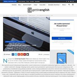 List z zażaleniem - A letter of complaint Angielski online.