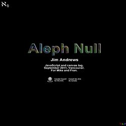 Aleph Null: Color Music -- Jim Andrews