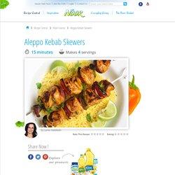 Aleppo Kebab Skewers Recipe
