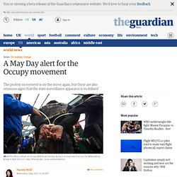 A May Day alert for the Occupy movement