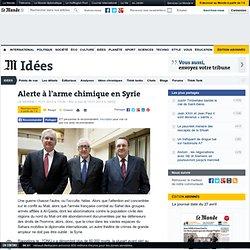 Alerte à l'arme chimique en Syrie