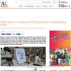 L'ABF alerte sur le dispositif Prêt Numérique en Bibliothèque (PNB)