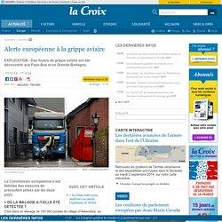 Alerte européenne à la grippe aviaire