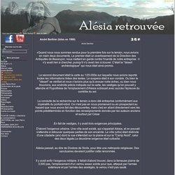 Alesia retrouvee