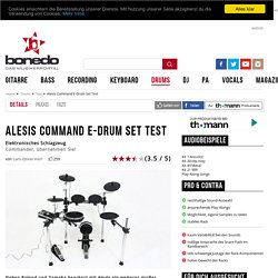 Alesis Command E-Drum Set Test