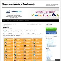 Alessandra Chiaretta in Canalescuola
