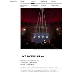 Rendez-vous de Némo #4 -Alex Augier au Cabaret sauvage (Transient Festival)