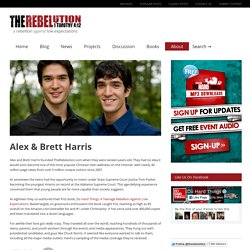 Alex & Brett Harris