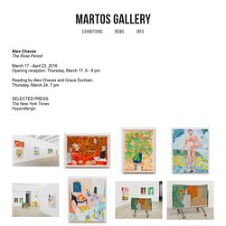 Alex Chaves — Martos Gallery