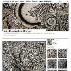 Alex Konahin Fine Line art