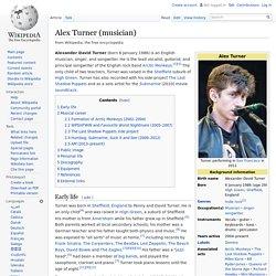 Alex Turner (musician)