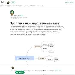 Про причинно-следственные связи – Alex Voloshyn – Medium