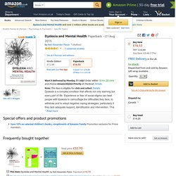 Dyslexia and Mental Health (click to go to Amazon)