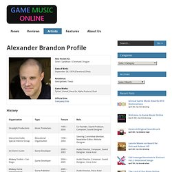 Alexander Brandon Profile