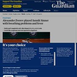 Alexander Zverev played Jannik Sinner with breathing problems and fever