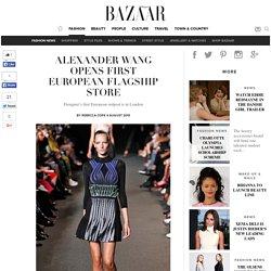 Alexander Wang opens first European flagship store